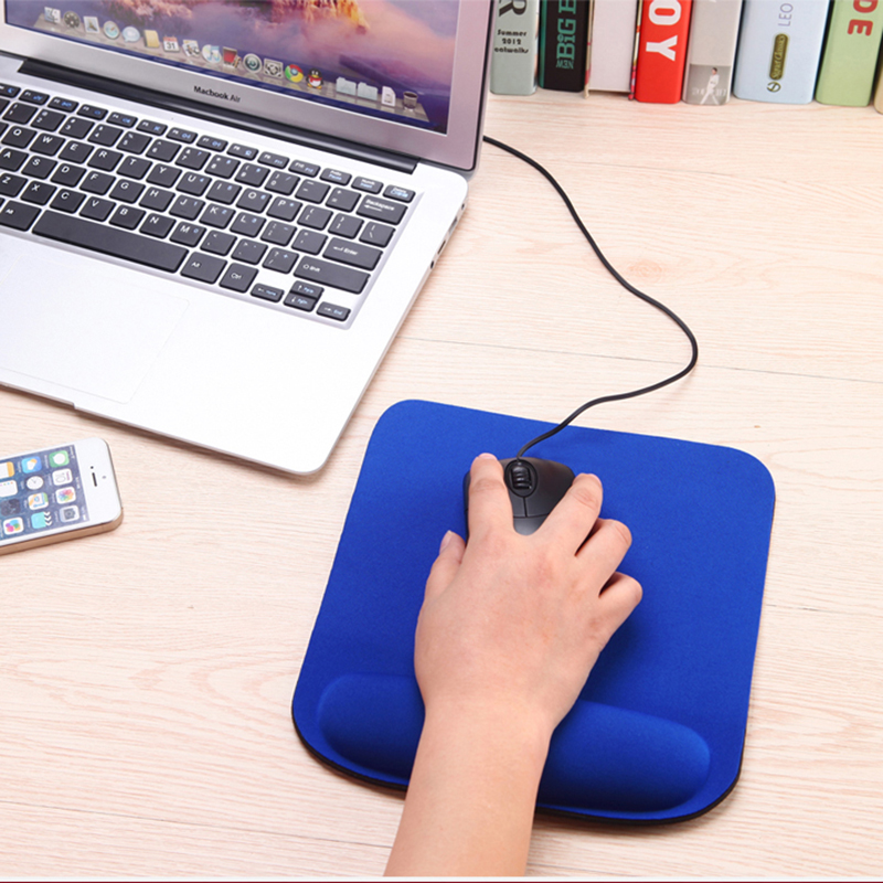 Professional Optical Trackball PC Thicken Mouse Pad Support Wrist Comfort Mouse Pad Mat Mice For CSGO Dota 2 LOL