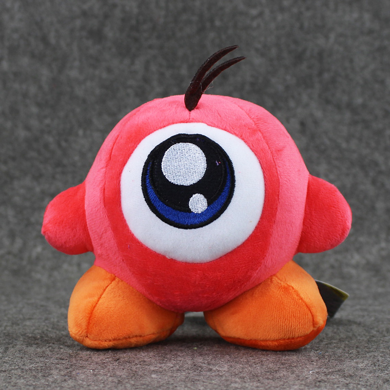 13cm Game Star Kirby Plush Toy Soft Stuffed Animal Doll Fluffy red Figure plush Doll Baby Toy Christmas Gifts image