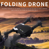 New Foldable Drone Wifi FPV 480P/720P HD Camera High Fixd Headless Mode One Key Take off Remote Control Quadcopter