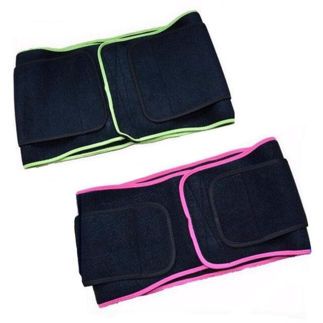 AOFEITE 2016 New Design Custom Tummy Trimmer Waist Belt for Women and Men Lumbar Support Belt Free Shipping AFT-Y067