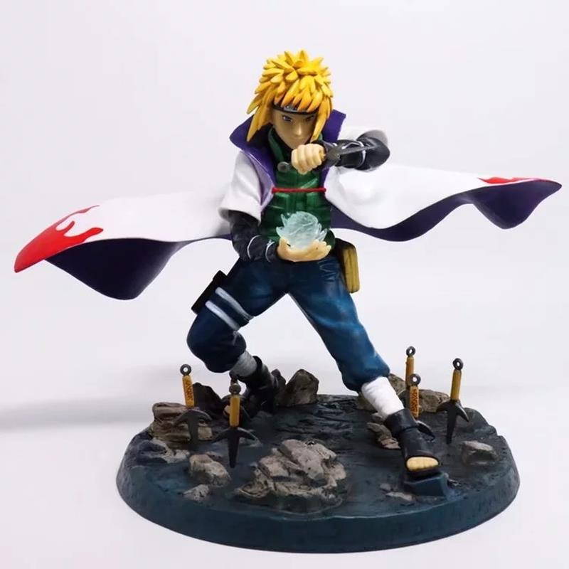 Naruto Namikaze Minato Action Figure 1/7 scale painted figure Namikaze Minato PVC figure Toy Brinquedos Anime hot anime naruto 4th hokage namikaze 6 action figure collectible pvc model gift toy