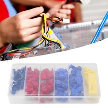65Pcs Electrical Connectors Terminals Quick Splice Solderless Wire and T-Tap Kit