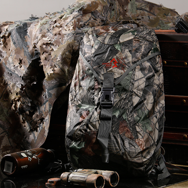 Portable Multifunctional Bag Shoulders Waterproof Bionic Camouflage Knapsack Outdoor Tactical Hunting And Fishing 25L Backpack