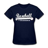 Customized Team Shirts Short Sleeve Comfort Soft Crew Neck Mens Baseballer Grandma Shirt