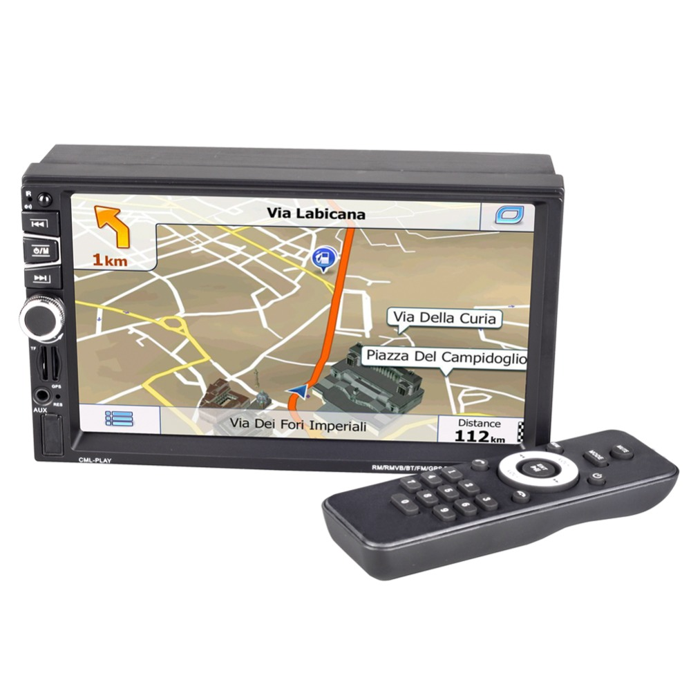 7030GM  7 inch navigation MP5 player MP5 multi function player GPS navigation radio playback-in Vehicle GPS from Automobiles & Motorcycles