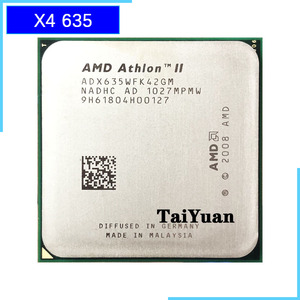 AMD Athlon II X4 635 2.9 GHz Quad-Core CPU Processor ADX635WFK42GI/ADX635WFK42GM Socket AM3