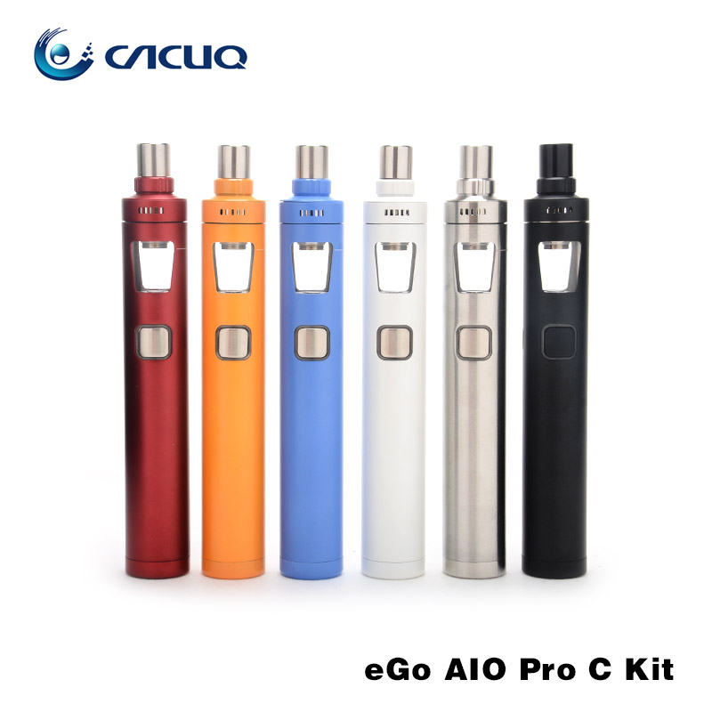 Original Joyetech EGo Aio Pro C Kit  all-in-one style anti-leaking with 4ml capacity without 18650 battery e cig kit