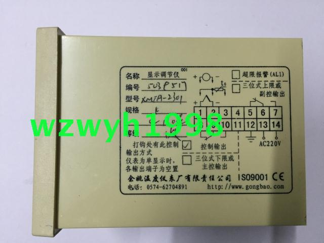 все цены на New authentic Yuyao temperature Instrument Factory XMTA-2301 temperature controller working treasure thermostat онлайн