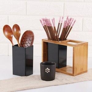 Image 5 - 1 шт., бамбуковый органайзер для сушки столовых приборов