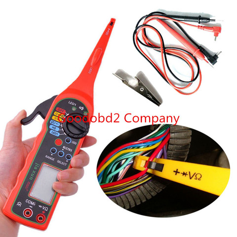 Car Digital Screen Electric Automotive Circuit Tester Multimeter Lamp Car Repair Automotive Electrical Multimeter Karachi