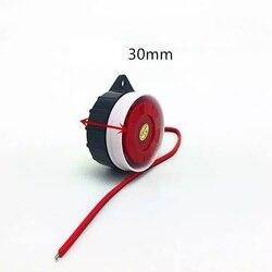 5 в 12 В короткий Активный/пассивный мини проводной звуковой сигнал сирены для беспроводной система охранной сигнализации для дома громкая с...