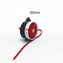 5 V 12 V Breve Attivo/Passivo Mini Wired Sirena Corno Per Il Sistema di Allarme di Sicurezza Domestica Senza Fili sirena ad alta voce