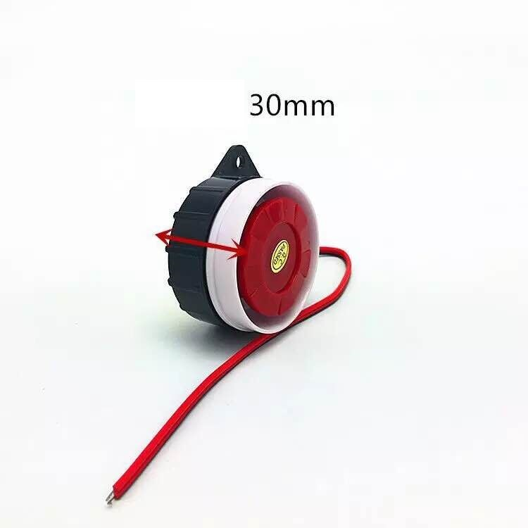 5V 12V Short Active/Passive Mini Wired Siren Horn For Wireless Home Alarm Security System Loud Siren