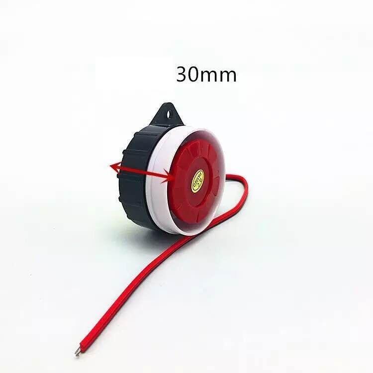 5V 12V Short Active/Passive Mini Wired Siren Horn For Wireless Home Alarm Security System Loud Siren