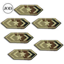Embroidery Army Patch Clothes Military Iron on Patches for Clothing DIY Stickers Tactical Fabric Badges Camouflage Style JOD velcro patch 3d tactical morale slogans army military badge labels embroidered stickers stick on for hats backpack clothes patch