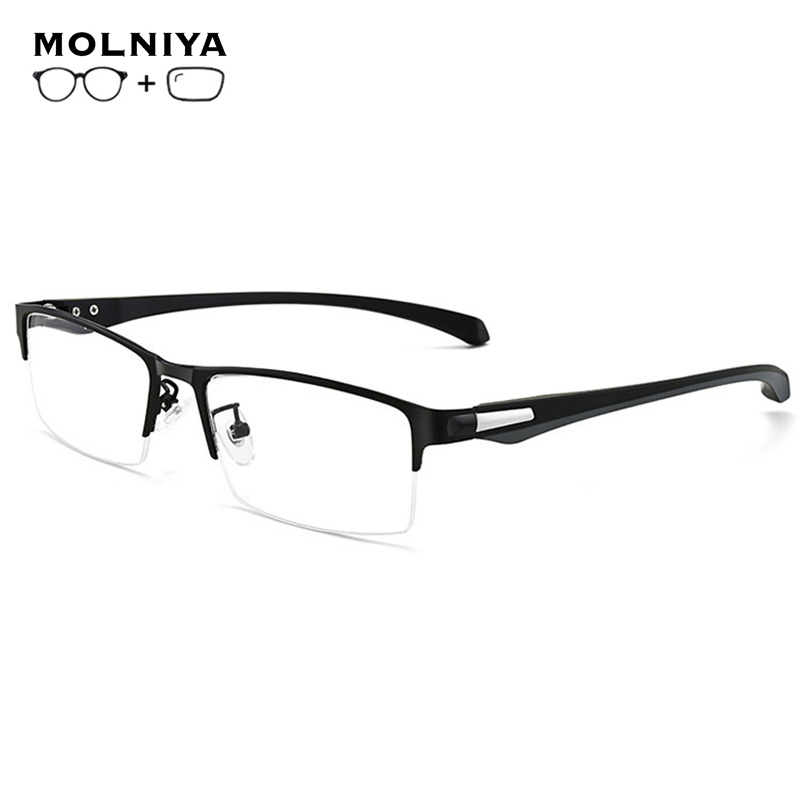 Prescription Glasses Blue Light Filter Glasses Frame Men Computer Gaming Goggles Eyeglasses Business Men Essential Myopia Glasse(China)