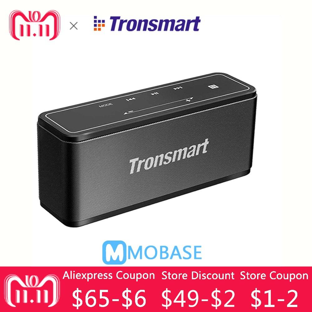 Tronsmart Élément Mega Bluetooth Haut-Parleur Sans Fil Haut-Parleur 3D Digital Sound TWS 40 w Sortie NFC 20 m Portable Haut-Parleur MicroSD carte