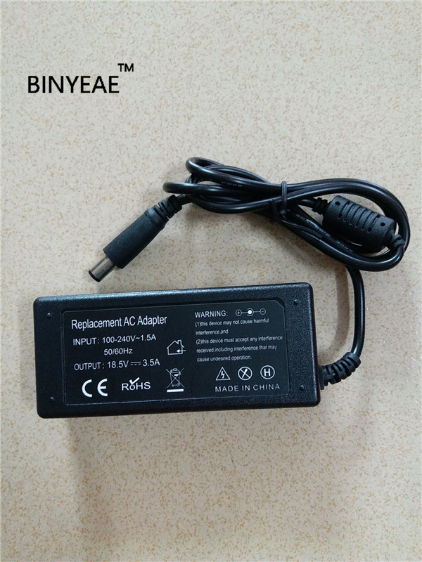 18,5 V 3.5A 65 Вт AC/DC Мощность адаптер Зарядное устройство для hp nx6315 nx7400 nx8420 nx9420