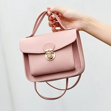 Fashion Lady Shoulders Small Backpack Letter Purse Mobile Phone Messenger Bag Shoulder Bag Small Flap Crossbody Bags for Women(China)