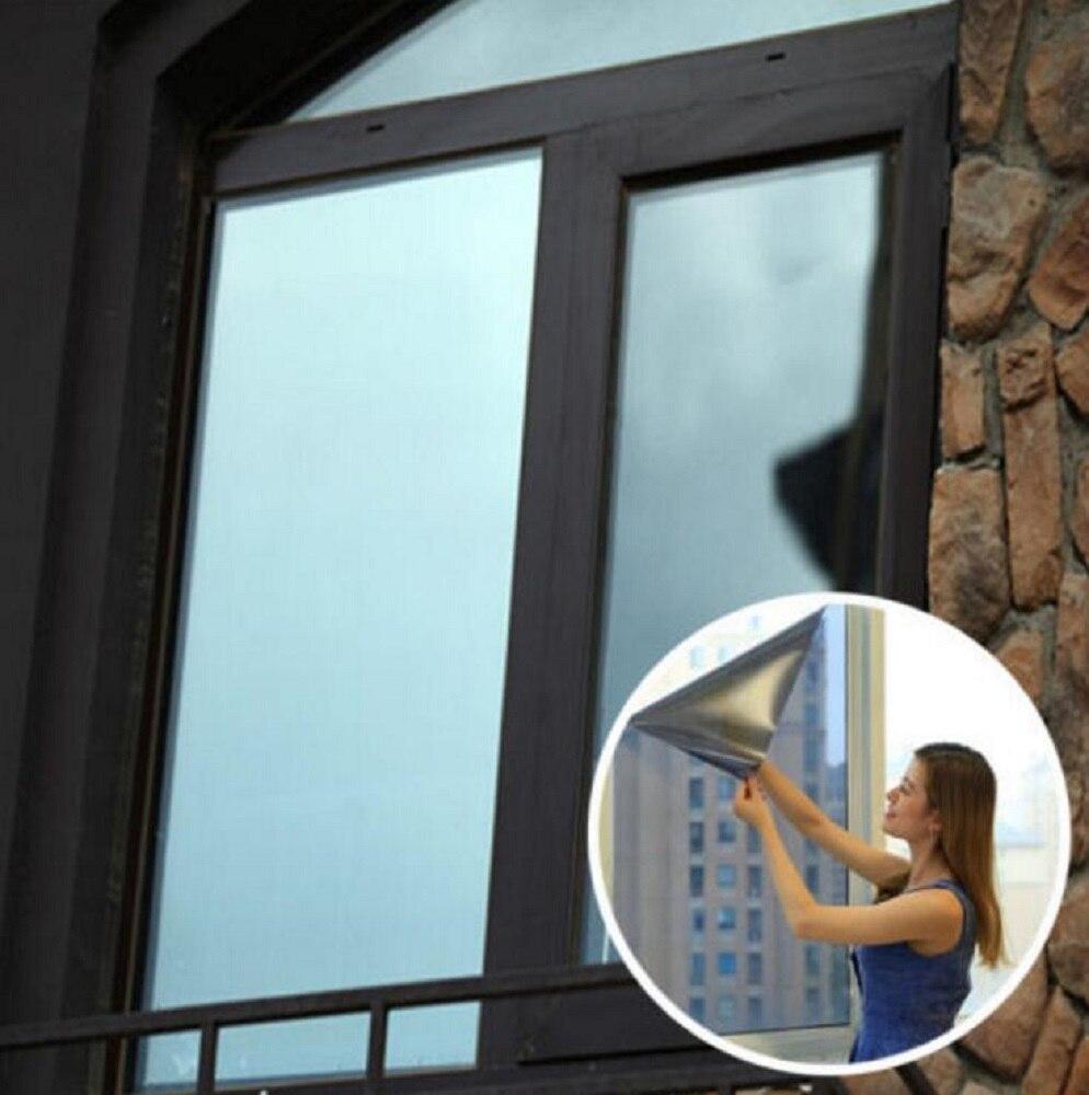 Solar Reflektierende Einwegspiegel Privatsphäre Fenster folie Glas