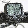 WEST BIKING New 100% Wireless LCD Bike Computer Bicycle Cycle Computer Odometer Speedometer Waterproof Stopwatch Ant Sensor