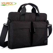 Laptop Bag 12 13.3 14 15 15.6 inch Waterproof Computer Handbag Shoulder Messenger Bag Women Men Notebook Bag for Macbook