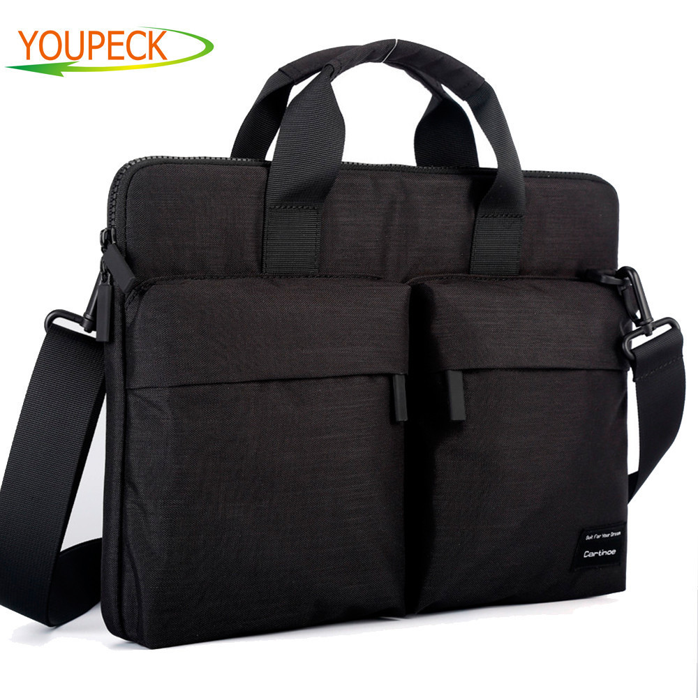 Laptop Bag 12 13.3 14 15 15.6 Inch Waterproof Computer Handbag Shoulder Messenger Bag Women Men Notebook Bag For Macbook
