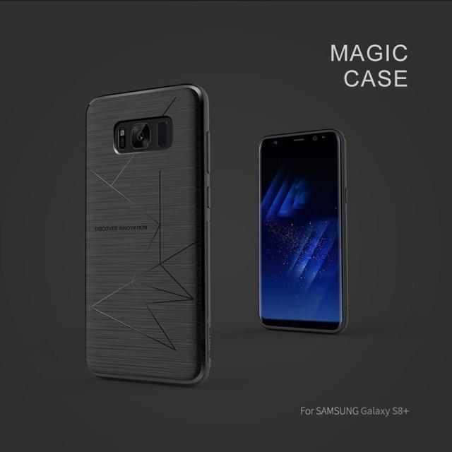 Per Samsung Galaxy S8 Plus Nillkin ricevitore di ricarica Wireless custodia magica per Galaxy S10 Plus custodia cover caricabatterie wireless