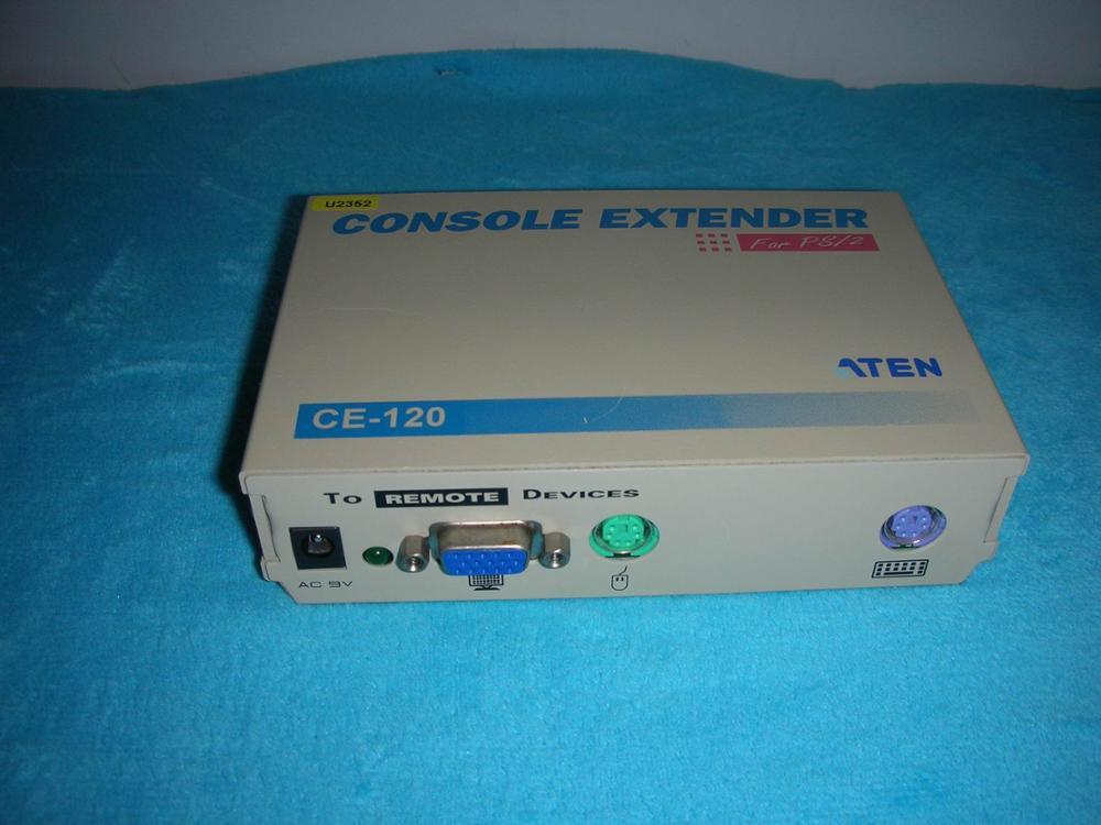 1PC USED ATEN (macro positive) CE-120 1pc used plc6es5 431451464
