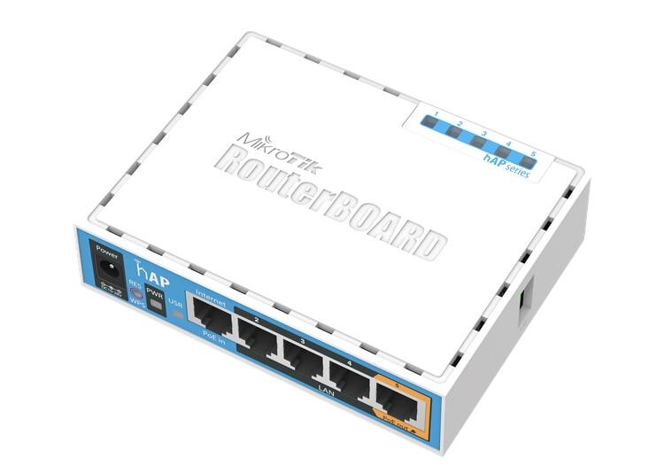Mikrotik RB951Ui-2nD 5-Port Gigabit AP 1000 mW 2.4G Sem Fio WI-FI Router 2.5dBi