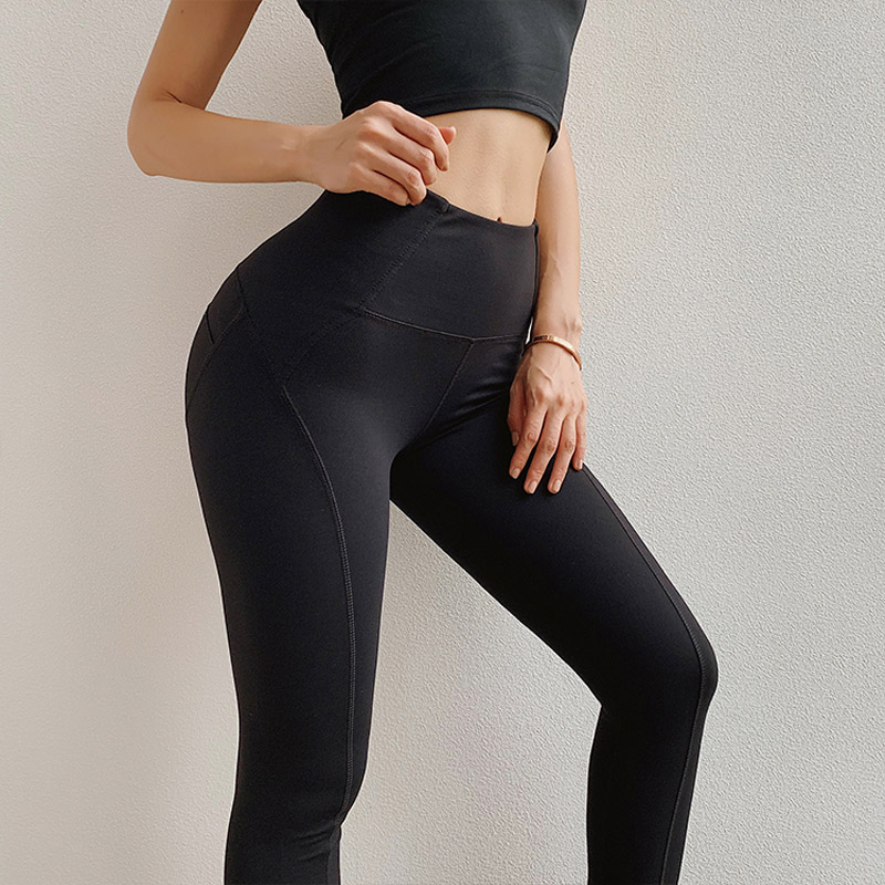 2019 Scrunch Booty leggings For Women Compression Yoga Pants Sexy Gym Leggings Running Tights Moto Workout Fitness Apparel 1