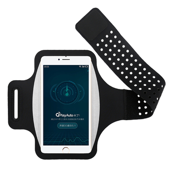 Haissky Running Sport Phone Case On Hand Armband For Samsung S10 S9 S8 iPhone X Xs Xr 6 7 8 Plus Phone holder Brassard Arm band 5