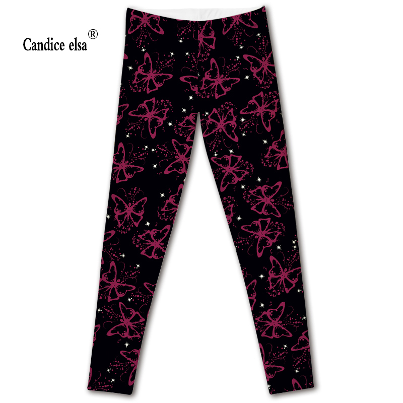 Hot sexy fashion butterfly leggins pants digital printing of leggings-limited for women drop shipping