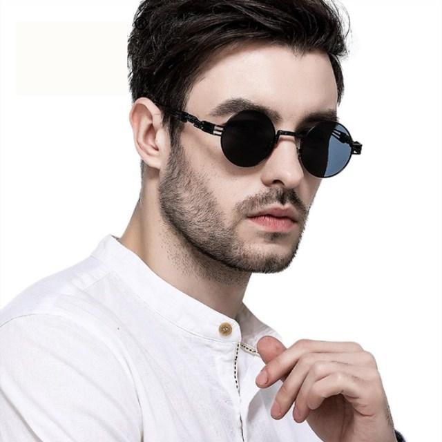 f6e11d07c5a KOTTDO Luxury Metal Sunglasses Men Oval Sunglasses Sport Outdoor Steampunk  Sunglasses Lentes Oculos of Male