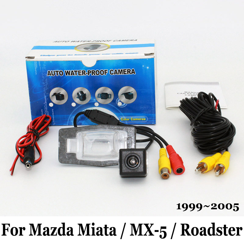 Night Vision Rear View Camera For Mazda Miata MX 5 Roadster RCA Wire Or Wireless HD