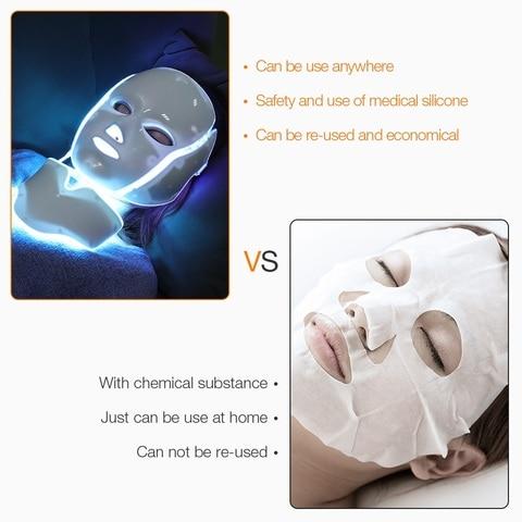 clareamento da pele facial dispositivo de massagem eletrica