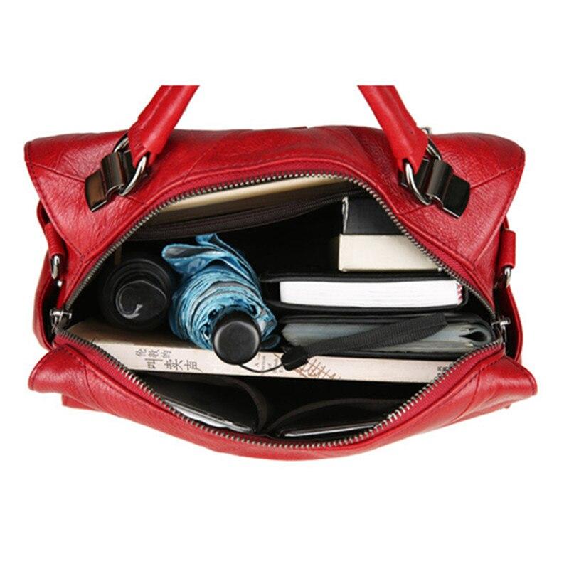 Big size top qualität Leder Männer Tasche Casual Retro Echtes Leder Reisetasche Mode Trend Handtasche Schulter Umhängetasche A4261 - 5