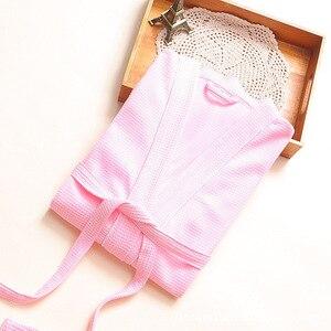 Image 4 - Nóng Slae Bánh Cotton Kimono Áo Tắm Nữ Gợi Cảm Plus Kích Thước Hút Nước Phù Dâu Áo Choàng nữ Đầm Bầu Thu Đông Áo Dây Femme