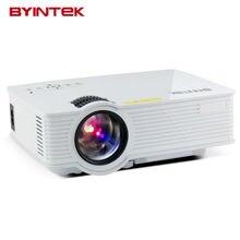2017 byintek BT140 Портативный видео ЖК-дисплей Цифровой HDMI USB AV мини светодиодный проектор для домашнего Театр Full HD 1080 P proyector