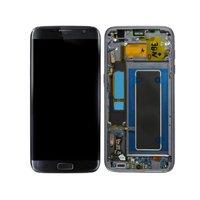 ЖК дисплей Дисплей Сенсорный экран, дигитайзер, для сборки, с корпусом, мобильный телефон Запчасти для авто для samsung Galaxy S7 край G935F
