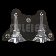 3D Eiffelturm magnetischen Polycarbonat schokoladenform, backformen candy schokoladenform kuchen dekoration gebäck backenwerkzeuge
