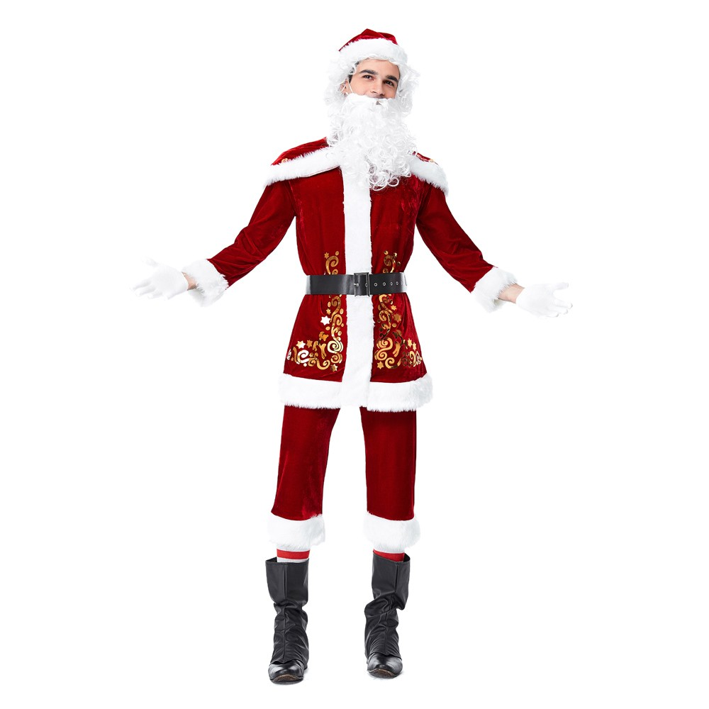 JAYCOSIN 2018 New Arrival Men Christmas Costume Cosplay Ball Party Xmas Suit Autumn,Winter Hot Sale Gothic Style