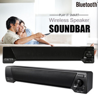 TV Speaker Home Theater Soundbar 3D Wireless Bluetooth Speaker FM Radio Portable Sound Bar Music Player