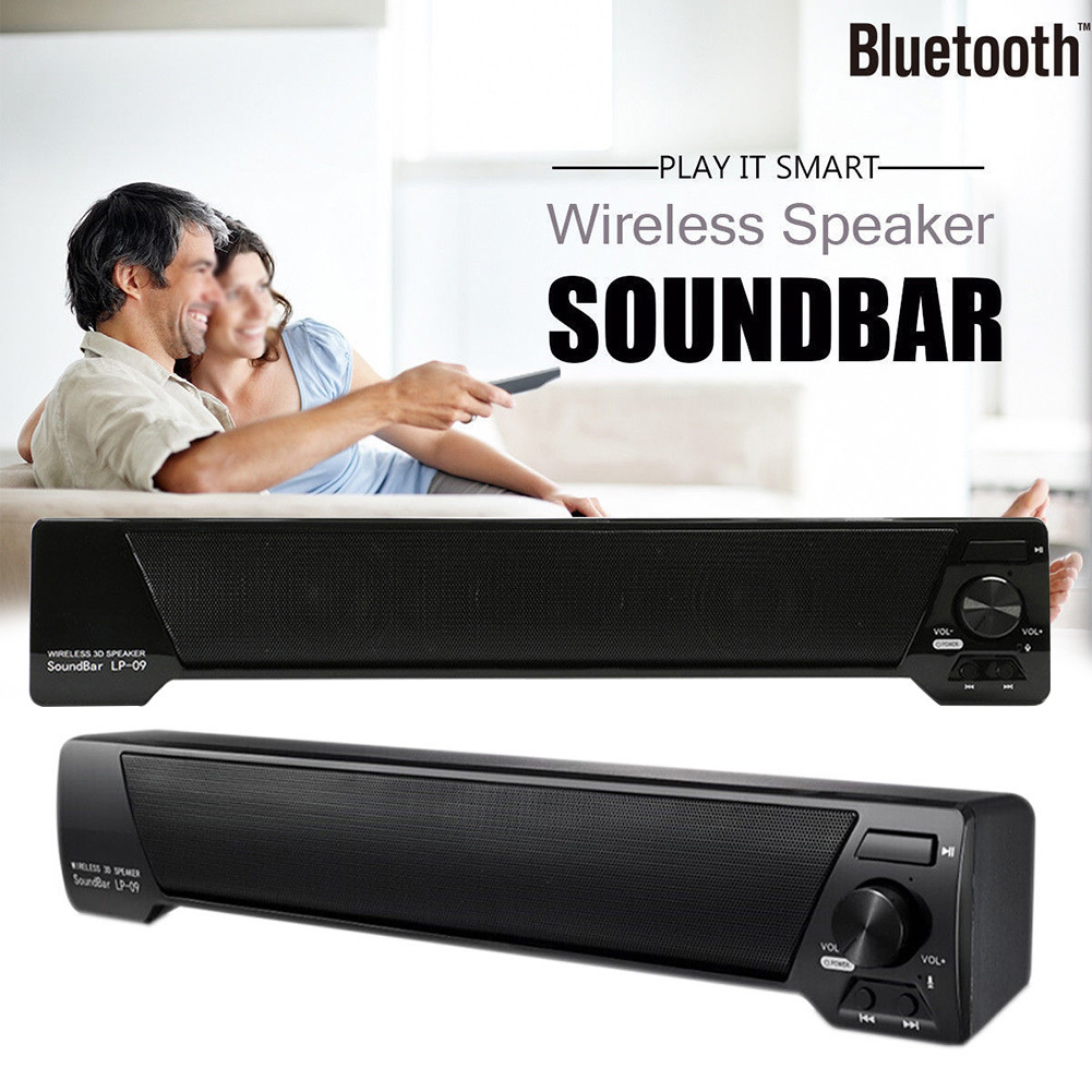 TV Speaker Home Theater Soundbar 3D Wireless Bluetooth Speaker FM Radio Portable Sound Bar Music Player Support TF Card U disk цены