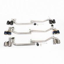 Карбоновый Автомобильный задний модифицированный глушитель выхлопной трубы наконечник для BMW 5 серии f10 f18 520523525528 530 M sport MT MP body kit