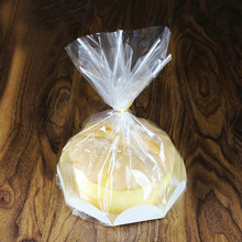 50 pcs Chiffon Cake packaging DIY baking bags cake paper box for Bakery Cholocate candy food Packing Bag 6/8 inch