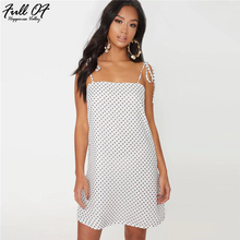 Sexy Polka Dot Summer Dress Women Befree Strapless Spaghetti Strap Off Shoulder white Casual fashion womens clothing vestido Hot