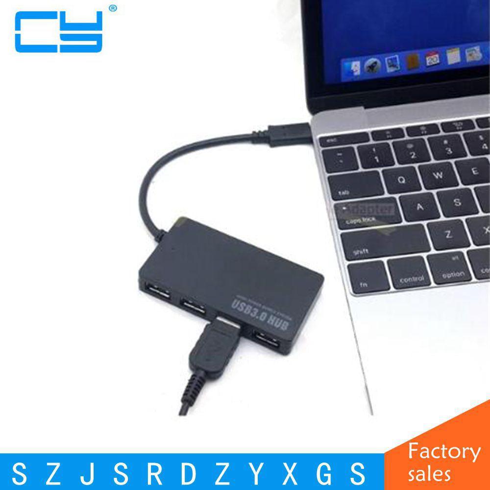 Новое поступление itop USB 3.1 Тип c USB-C несколько 4 Порты и разъёмы хаб для портативных ПК Планшеты MacBook