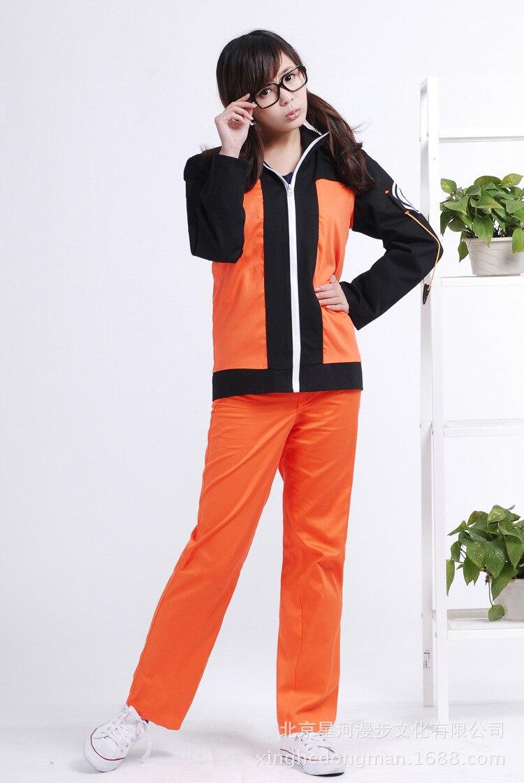 Naruto Uzumaki Naruto Halloween Daily Suit Cosplay Costume X001