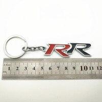 עבור הונדה crv crv 1pcs חדש סגסוגת מתכת Keyring Keychain רכב לוגו RR עבור CRV אקורד Mugen RR הונדה סיוויק סיטי HRV מחזיק מפתחות רכב-סטיילינג (2)
